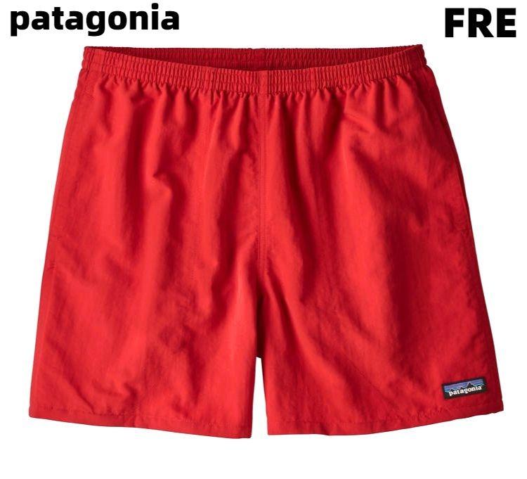 M 【Patagonia M's Baggies Shorts - 5 in. パタゴニア メンズ・バギーズ・ショーツ 57021 FRE SP20 レッド】