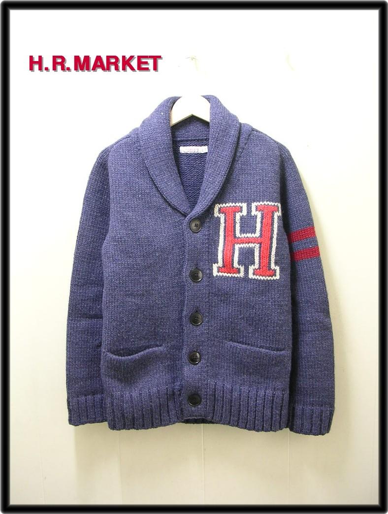 M 【H.R.MARKET ハリウッドランチマーケット ニットカーディガン】