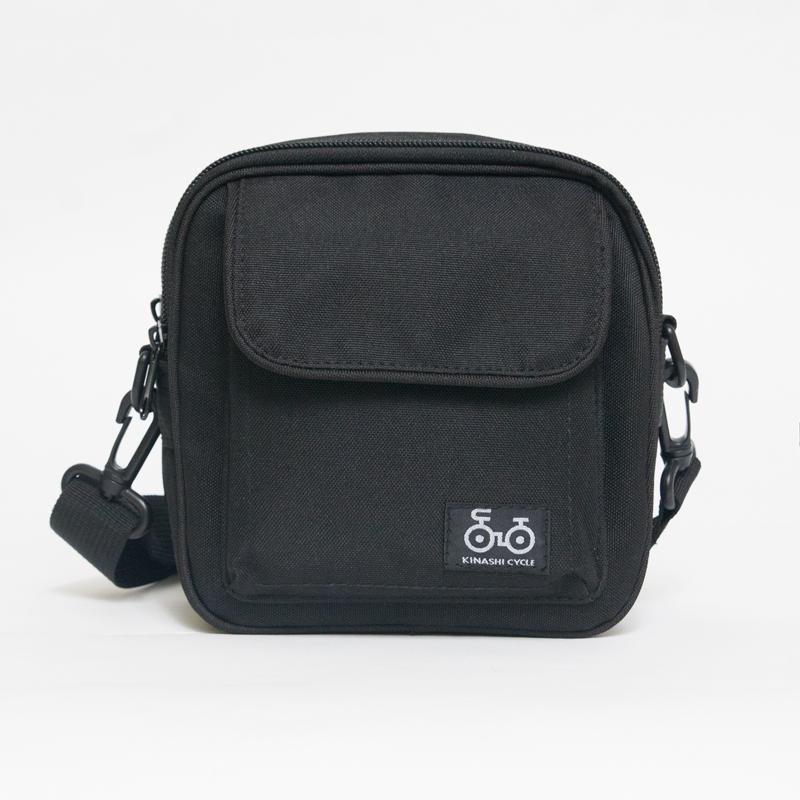 e66a231a7d 人気 BLACK 【KINASHI CYCLE 木梨サイクル ショルダーバッグ バック 木梨憲武】
