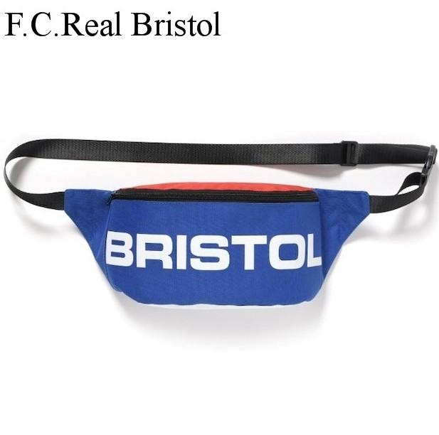 トリコロール【F.C.Real Bristol SQUARE LOGO WAIST BAG メンズ ウエストバッグ ポーチ ショルダーバッグ バック】