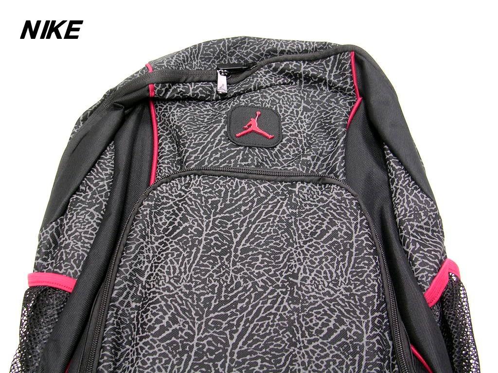 Nike Air Jordan 9a1223 391 Nike Air Jordan Jordan Logo Monogram Backpack Bag Rucksack Cement