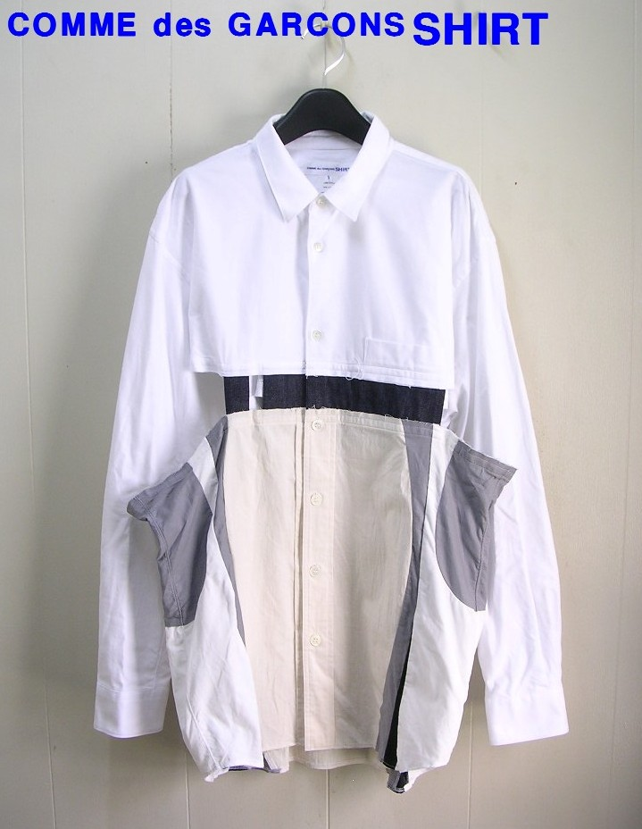 XL【COMME des GARCONS SHIRT Shirt コムデギャルソンシャツ L/S シャツ】W24055【中古】