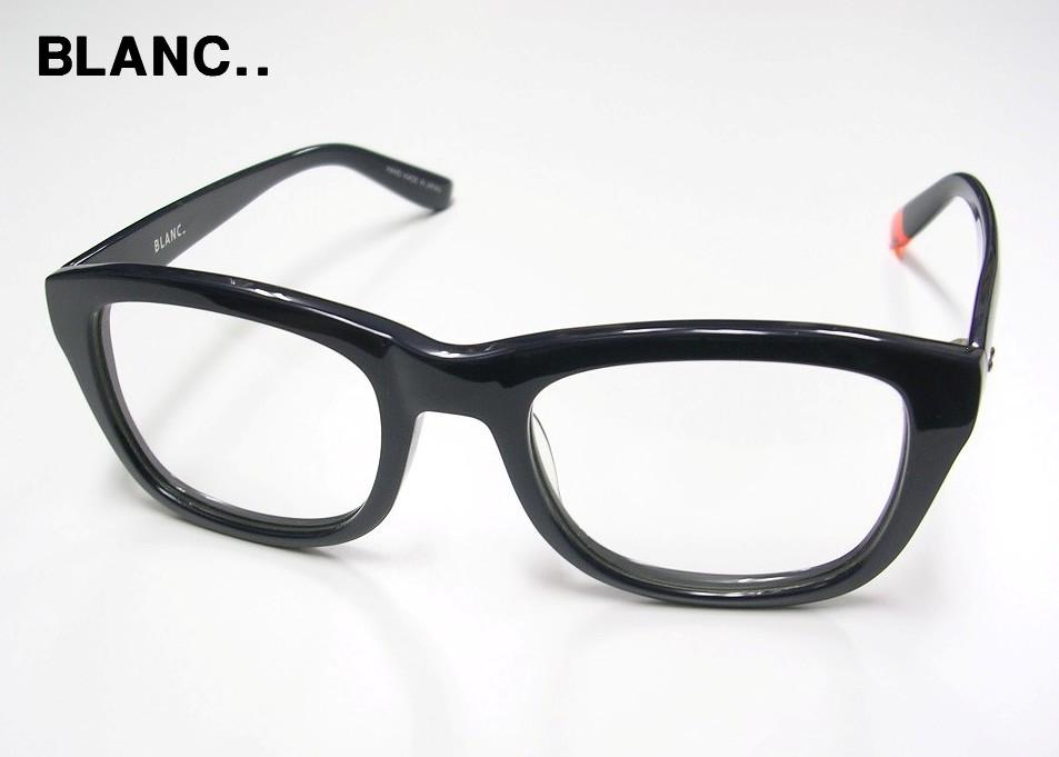 NAVY【BLANC. ブラン メガネ 眼鏡 ウエリントンタイプ】B0006 サングラス】【美中古】