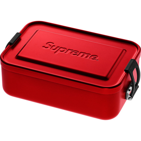 Red 18ss 【Supreme SIGG Small Metal Box Plus シュプリーム スモール メタルボックス メタルケース 赤】