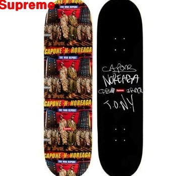 Black【Supreme シュプリーム 16AW The War Report Skateboard スケートボード】