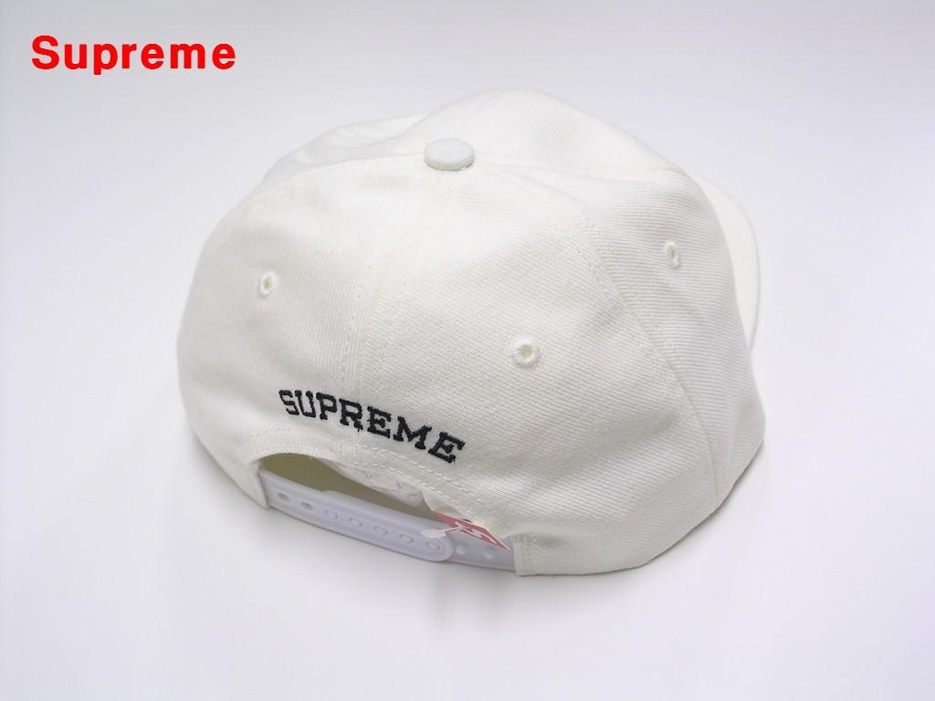 White Supreme Metallic Arc 6 Panel シュプリーム 6パネル キャップ メタリック アーチuPkXTOZi