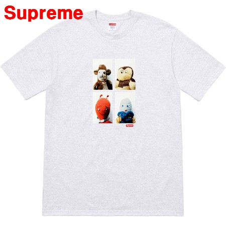 M Ash Grey【Mike Kelley/Supreme em Ahh... Youth! Tee マイク ケリー/シュプリーム ユース Tシャツ アッシュ グレー 2018AW 2018FW】
