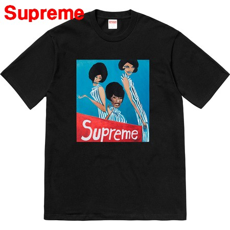 M 黒 Black【Supreme Group Tee シュプリーム グループ Tシャツ 2018AW】