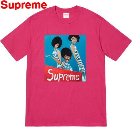 L Dark Pink【Supreme Group Tee シュプリーム グループ Tシャツ 2018AW ダークピンク】