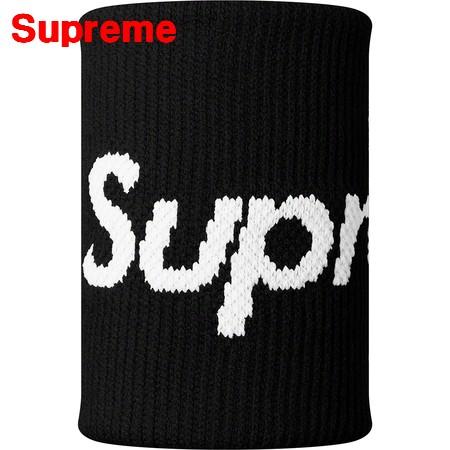 Black【Supreme/Nike/NBA Wristbands シュプリーム ナイキ エヌビーエー リストバンド 黒 ブラック 黒 2019ss 国内正規品】