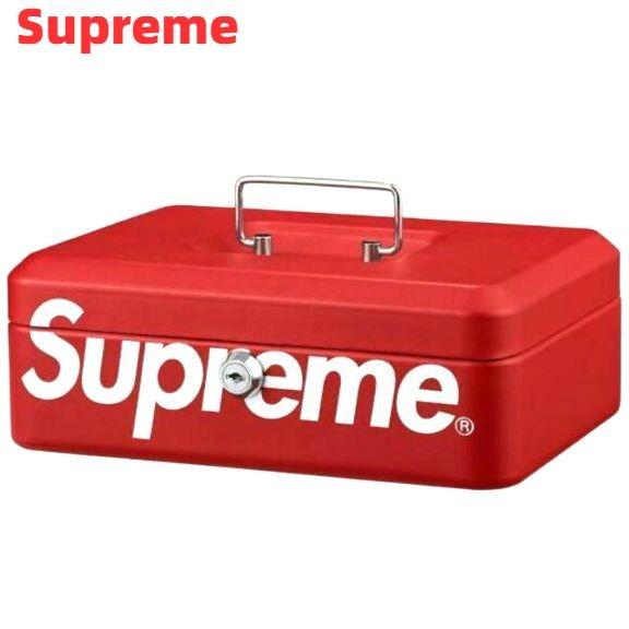 Red【Supreme 17AW Lock Box シュプリーム ロックボックス 金庫】【中古】