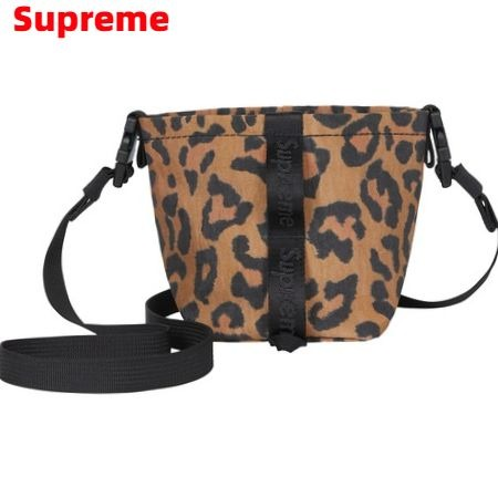 Leopard【Supreme 20AW Neck Pouch シュプリーム ネック ポーチ サコシュ バッグ バック ヒョウ柄 レオパード 2020FW 2020AW】