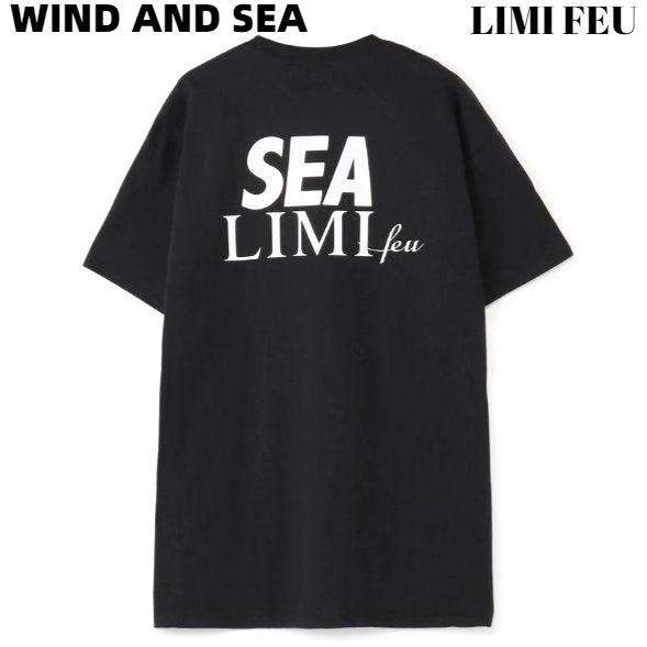 XL【WIND AND SEA LIMI FEU x WDS T-SHIRT / BLACK (LIMI-05) リミフゥ x ウィンダンシー Tシャツ 黒 ブラック メンズ レディース ユニセックス 男女兼用】