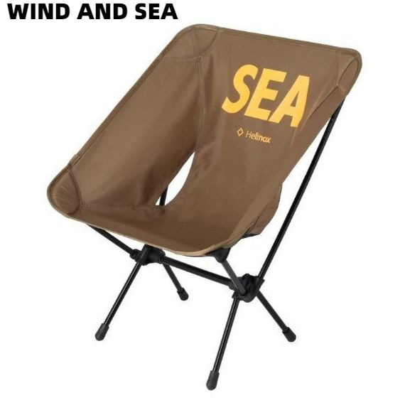 【WIND AND SEA WDS × HELINOX TACTICAL CHAIR / COYOTE TAN (HLNX-01) ウインダンシー X ヘリノックス タクティカルチェア コヨーテ タン チェアー】