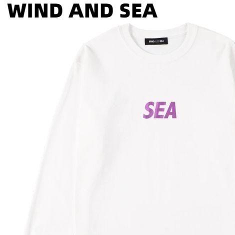 XL【WIND AND SEA SEA(FOIL) L/S T-SHIRT / WHITE (CS-208) ウィンダンシー ロンスリーブ Tシャツ ロンTシャツ 白 ホワイト ユニセックス メンズ レディース 男女兼用】