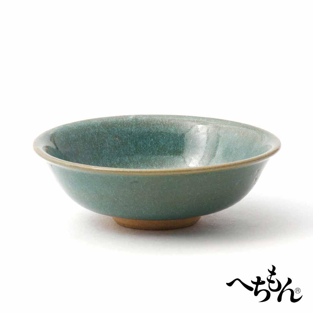 【送料無料】【信楽焼】へちもん 鈞窯平茶碗