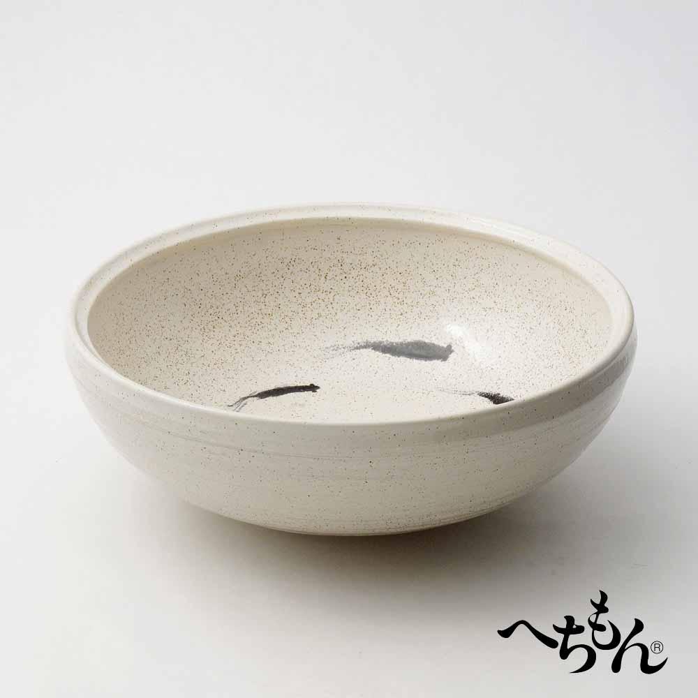 【送料無料】【信楽焼】へちもん 魚紋 平水鉢