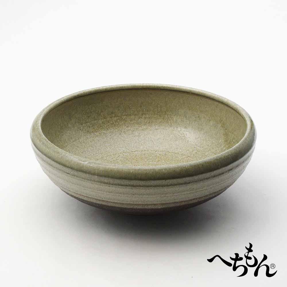 【送料無料】【信楽焼】へちもん ミカゲビードロ 平水鉢