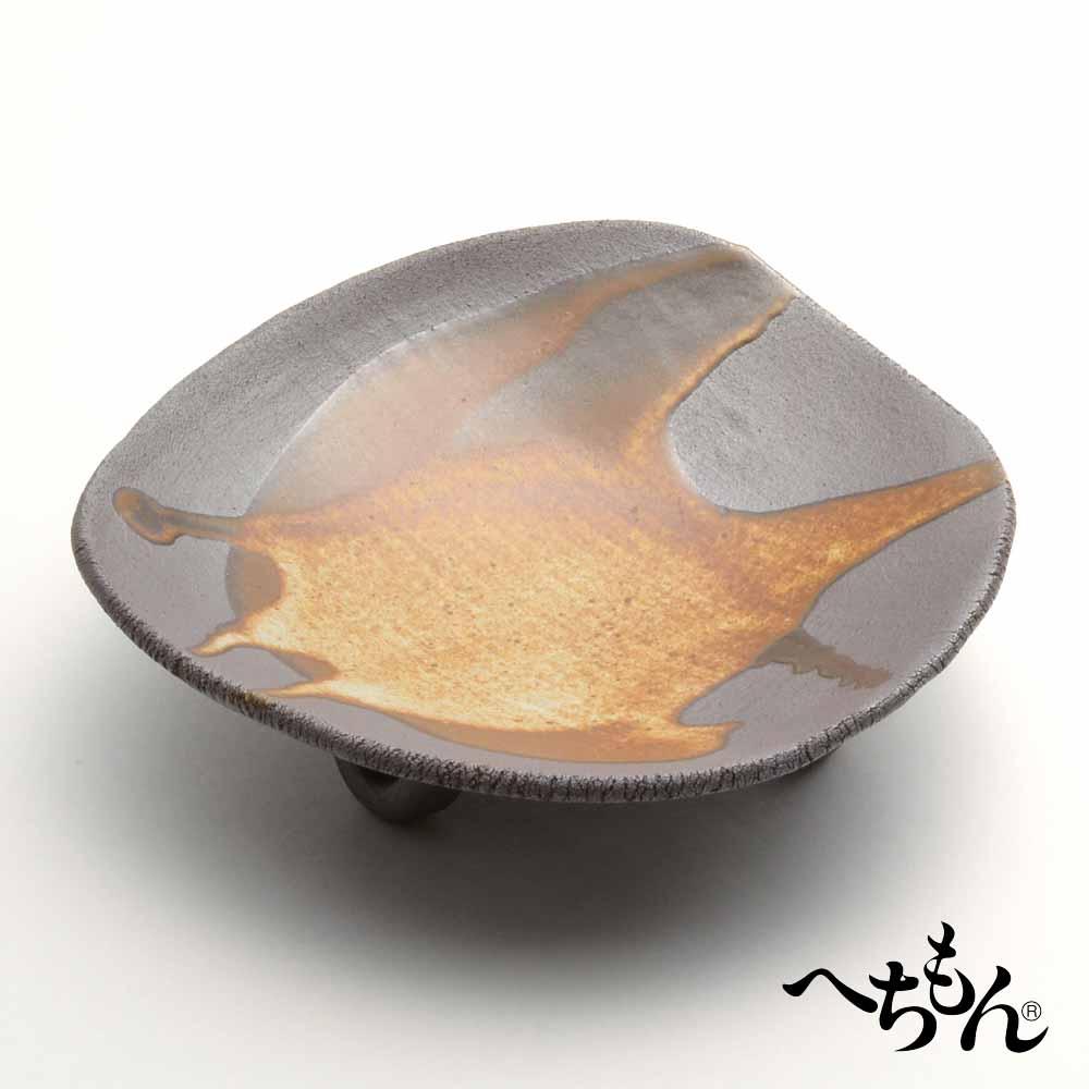 【送料無料】【信楽焼】へちもん あずき釉 盛鉢
