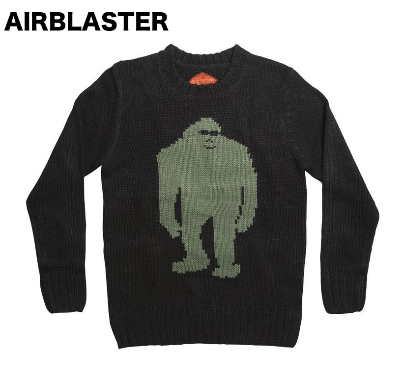 Airblaster Sassy Sweater Black S セーター 送料無料