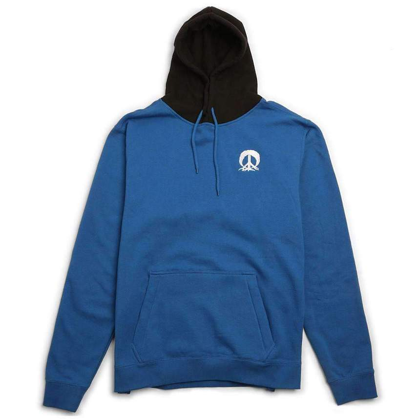 Gnarly DWR Pullover Hoodie Blue/Black L パーカー 送料無料