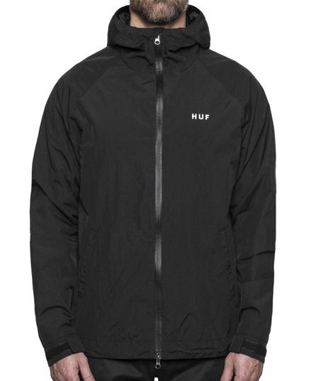 HUF Standard Shell Jacket Black M 送料無料
