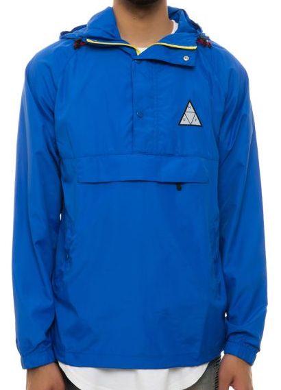 HUF Varick Packable Anorak Jacket Royal Blue L 送料無料
