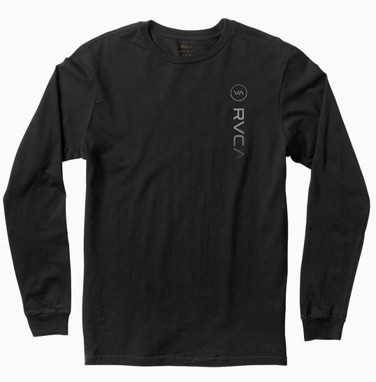 RVCA Sport Long Sleeve T-Shirt Black S Tシャツ 送料無料