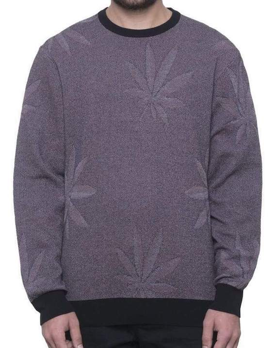 HUF Marco Plantlife Sweater Black M 送料無料