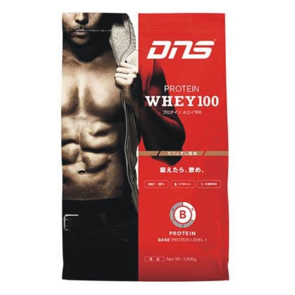 DNS PROTEIN WHEY100 プロテインホエイ100 カフェオレ風味 3000g 3kg
