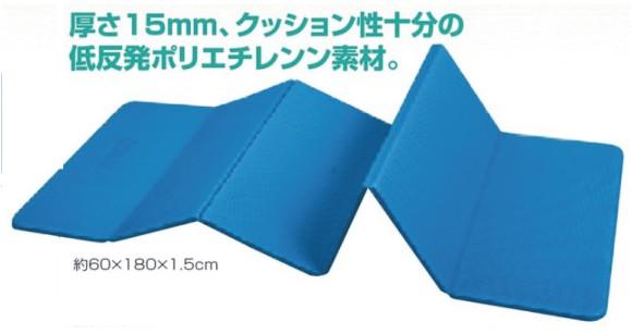 HATAS キャリーフィットネスマット6枚折 MAT-03