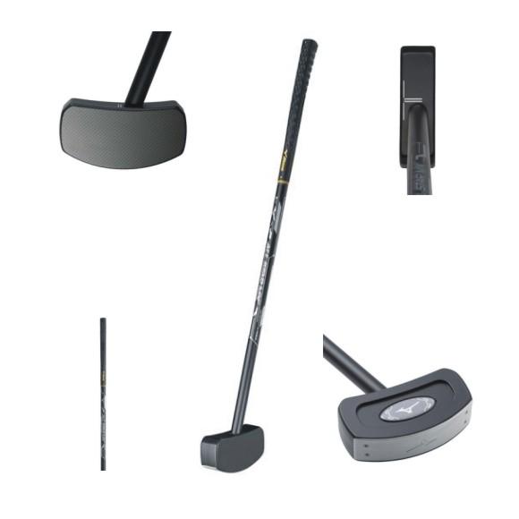 ミズノグラウンドゴルフ クラブ オールスターMX C3JLG801 09 ブラック×シルバー