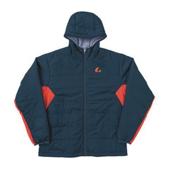 ルーセント Uni パデットジャケット ユニセックス XLW-3126 ネイビー 男女兼用 コート