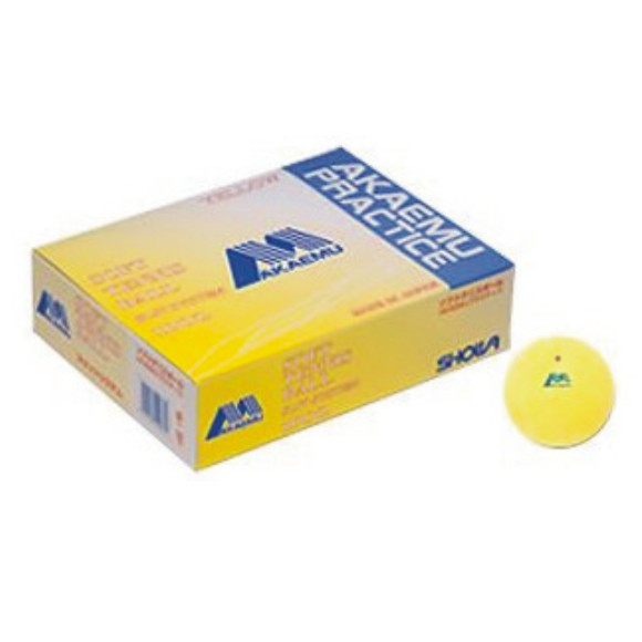 【SHOWA】ショーワコーポレーション アカエムソフトテニスボール練習球(10ダース) M-40300