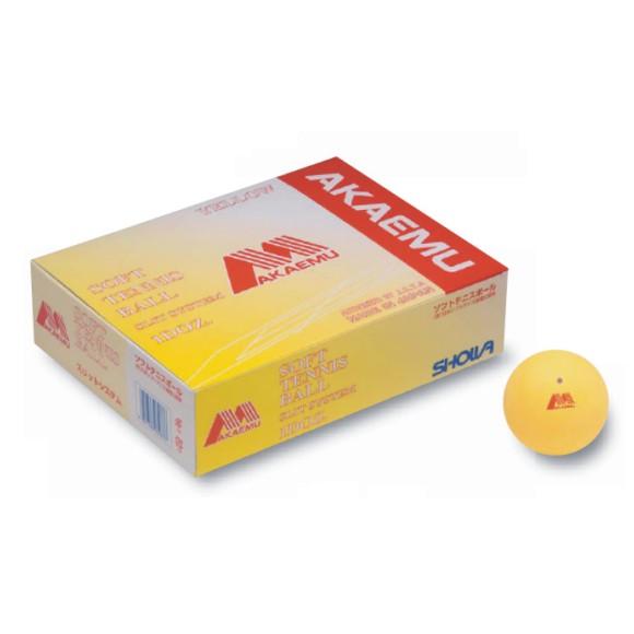 【SHOWA】ショーワコーポレーション アカエムソフトテニスボール公認球(10ダース) M-30300