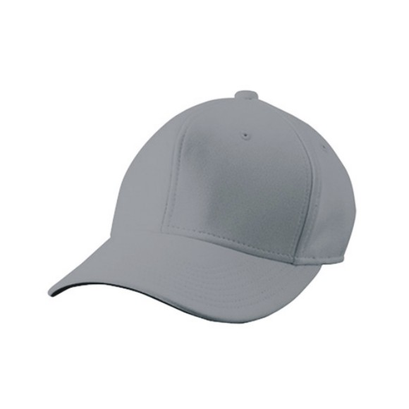 wundouの野球用帽子 ウンドウ wundou 六方型ベースボールキャップ P81-31 お洒落 新商品 野球 ライトグレー