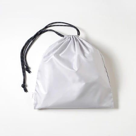 10mois ディモワ サコッシュ・巾着つきマザーズリュック ブラック