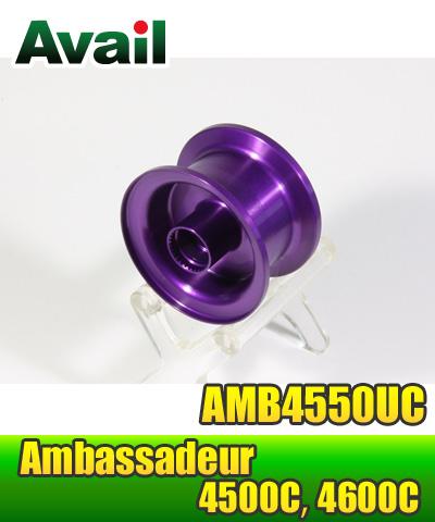 利用浅槽轻量级阀芯 AMB4550UC 紫色 (Aweil) ABU Ambassadeur 4500 C 系列 *