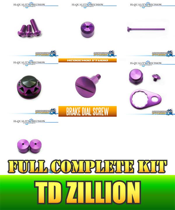 STUDIO HEDGEHOG (Hedgehog Studio) TD zillion for dress-up custom parts full complete kit Ver.5 black / Royal purple *