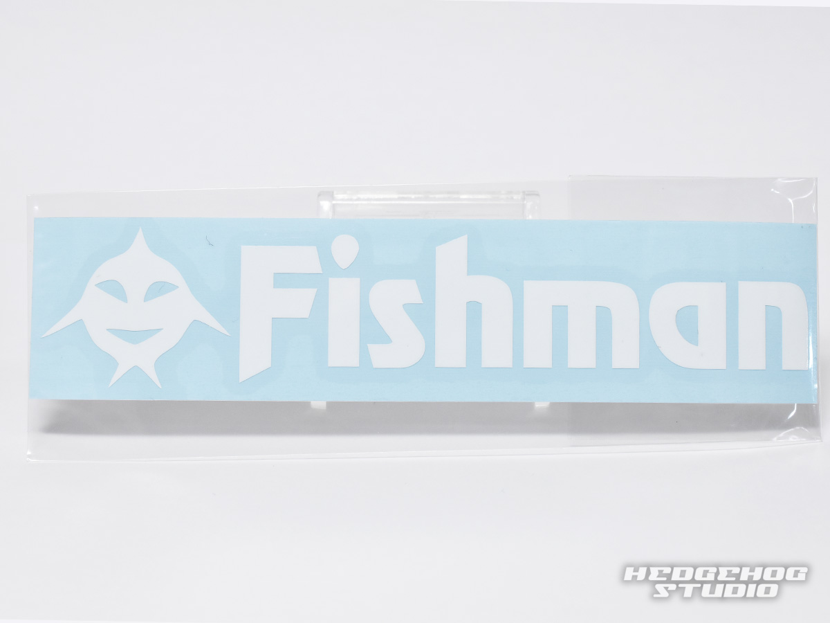 [Fishman/菲什曼]Fishicon Fishman粘纸白切断(code:FM1297)