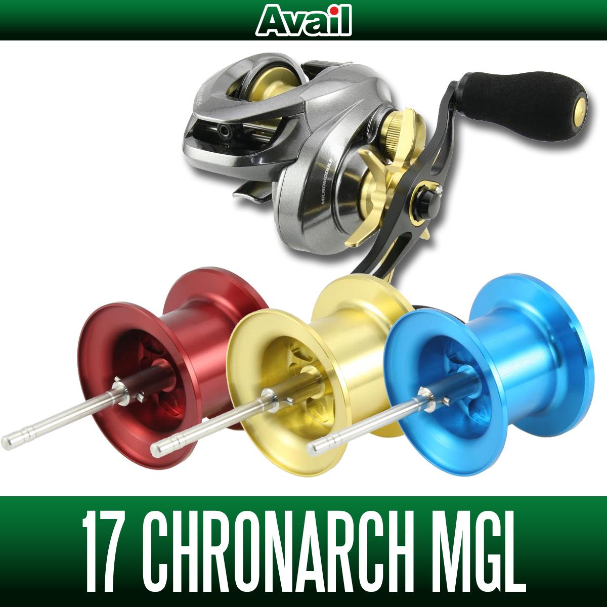 【Avail/アベイル】 シマノ 17クロナークMGL用 NEWマイクロキャストスプール 【17CRNC60RI】