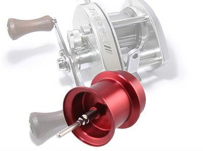 Avail シマノ バンタムマグキャストシリーズ用 NEW軽量浅溝スプール Microcast Spool BTM1039 MAG (溝深さ3.9mm) レッド *
