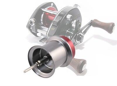 Avail シマノ バンタムマグキャストシリーズ用 NEW軽量浅溝スプール Microcast Spool BTM2039 MAG (溝深さ3.9mm) ガンメタ *
