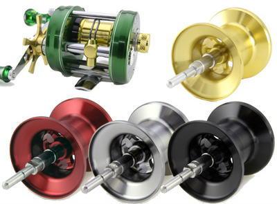 【Avail/アベイル】ABU Ambassadeur 2500C 用 浅溝軽量スプール Microcast Spool 【AMB2560R:溝深さ6.0mm】