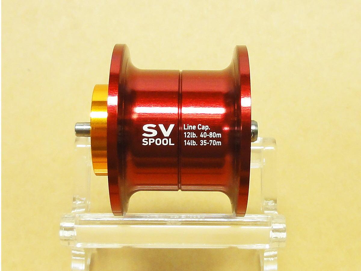 【ダイワ純正】 RCS 1012 SV スプール レッド (浅溝スプール) ※リョウガ、T3、T3 MX対応