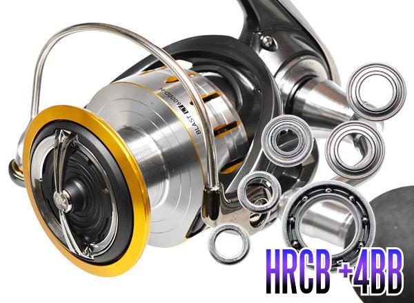 18ブラスト LT6000D, LT6000D-H用 MAX10BB フルベアリングチューニングキット【HRCB防錆ベアリング】