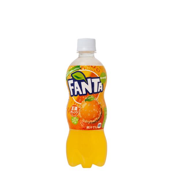 【2ケースセット】ファンタオレンジ 500mlPET
