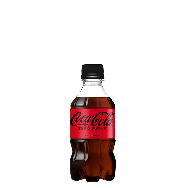 コカ 日本最大級の品揃え コーラゼロシュガー 300mlPET 新品■送料無料■