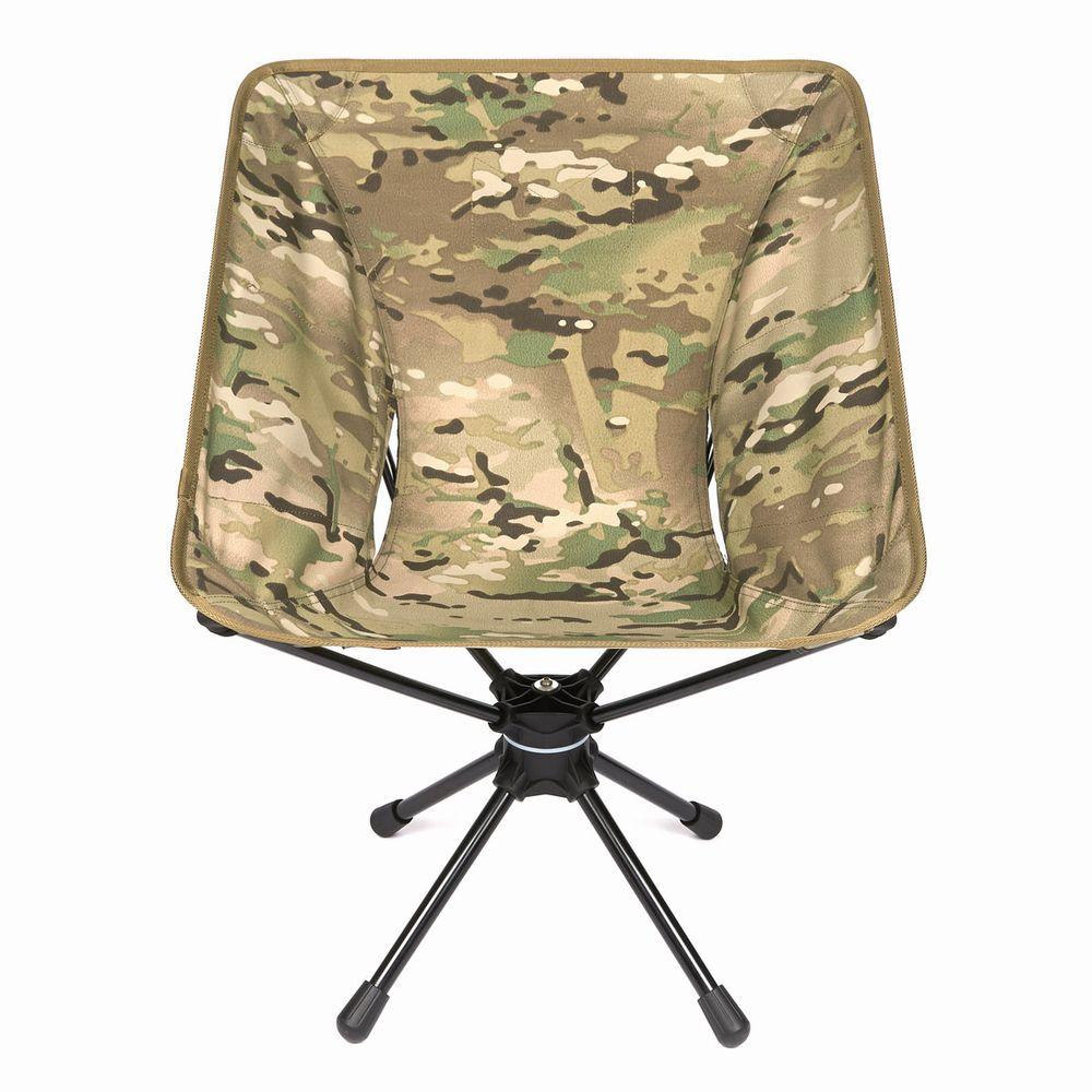 Helinox/ヘリノックス Tactical Swivel Chair/タクティカルスウィベルチェア マルチカモ