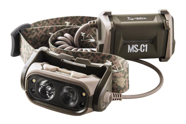 Milestone/マイルストーン MS-C1 プロフェッショナルモデル ヘッドランプ
